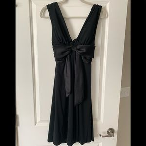 WHITE HOUSE BLACK MARKET halter bow dress